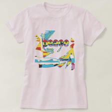Contemporary Abstract Art T-shirts For Women